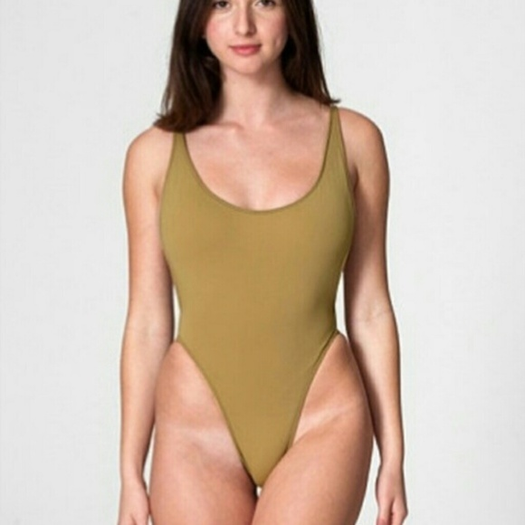 d4be6eccc794c American Apparel The Nylon Tricot 1 Piece XS NWT